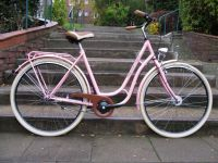 "Pagels Retro-Rad in Retro-Design, 28"", rosa"